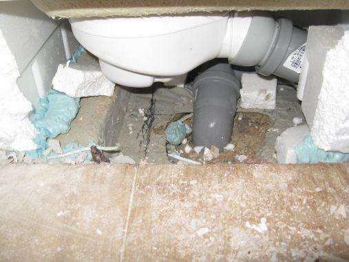 Fußboden Im Bad Abdichten ~ Abdichtung im badezimmer feuchtigkeitsschäden im keller erdell