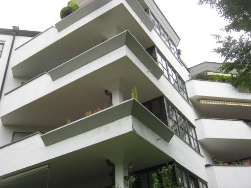Balkonabdichtung eines Wohnblocks